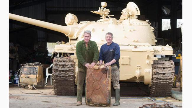 Британец намери злато за $2,5 млн. в съветски танк
