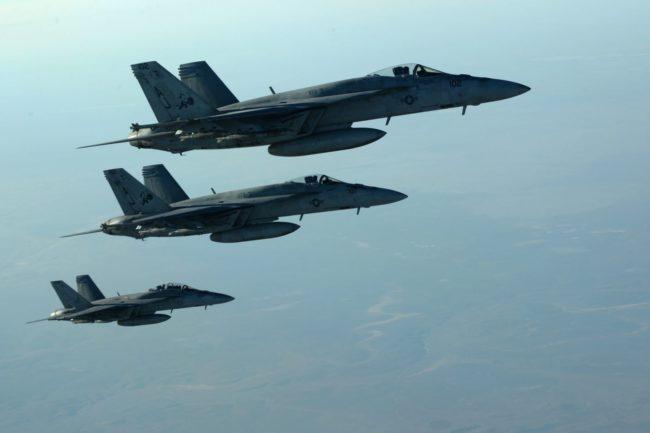 Русия: Без американски самолети в зоните за сигурност в Сирия
