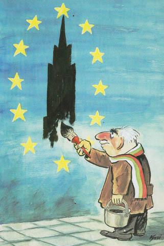 Карикатура Иван Кутузов - Кути