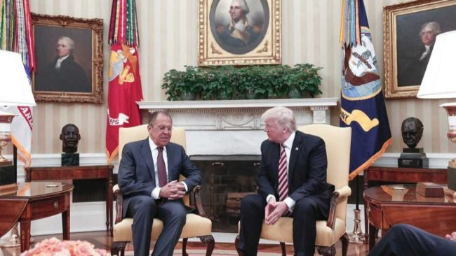 Лавров: Оставяме на Тръмп да реши как да развива отношенията с Русия Срещата Лавров-Тръмп