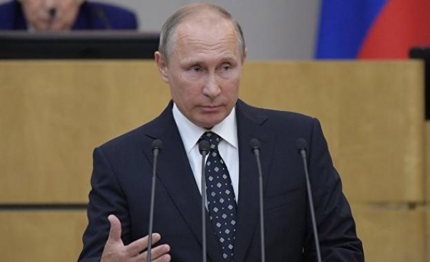Путин: Русия подкрепя възобновяването на прекия диалог между Палестина и Израел