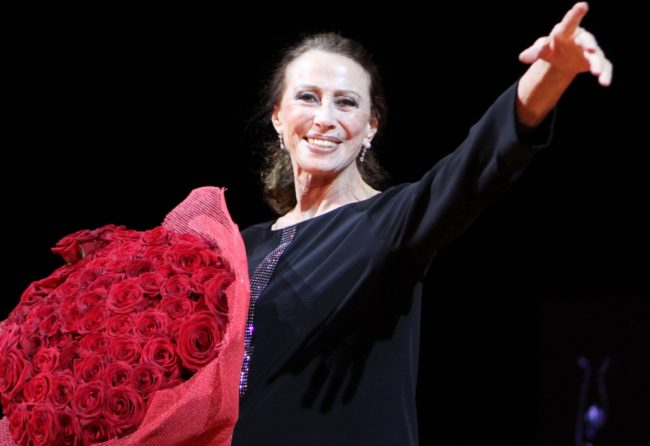 На 2 май 2015 година от живота и сцената си отива Майя Плисецкая