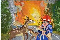 Осми международен конкурс за детска рисунка «Обичам моята Родина – VI кръг