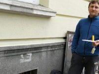 """Дмитрий, създателя на групата """"Стоп вандал! – Варна"""""""