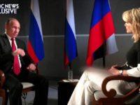 Повече от 6 млн. души са гледали интервюто на Владимир Путин за Ен Би Си
