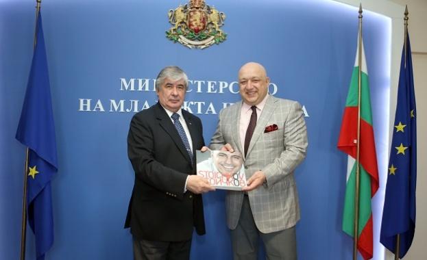 Министър Кралев проведе работна среща с руския посланик Анатолий Макаров