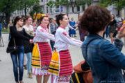 Огромно българско хоро се изви в  Москва