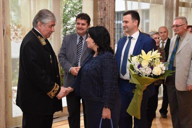 Денят на Русия събра елита на България