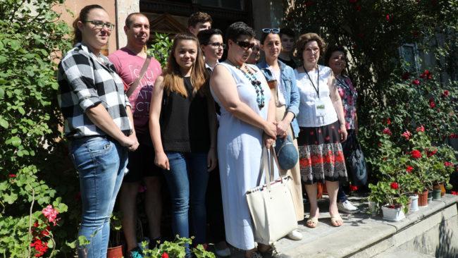 Български и руски студенти с проекти за реставрация на стара къща във Варна