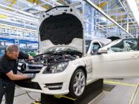 Mercedes строи нов завод край Москва
