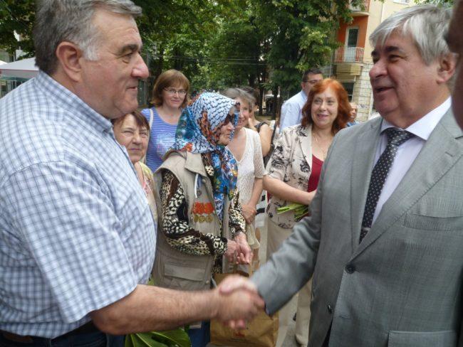 Посланикът на Руската Федерация и генералният консул на Русия в гр. Варна посетиха Ямбол по повод Деня на памет и скръб – 22 юни
