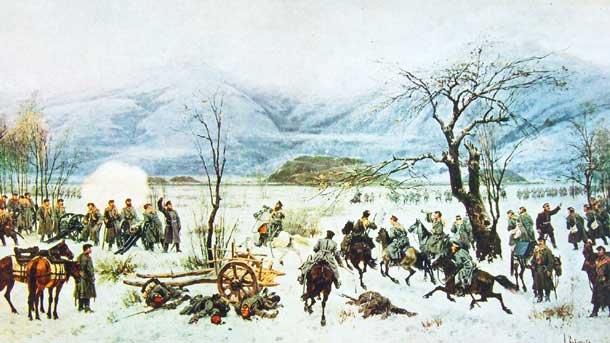 Руско-турската война – опълченците  от с. Крън