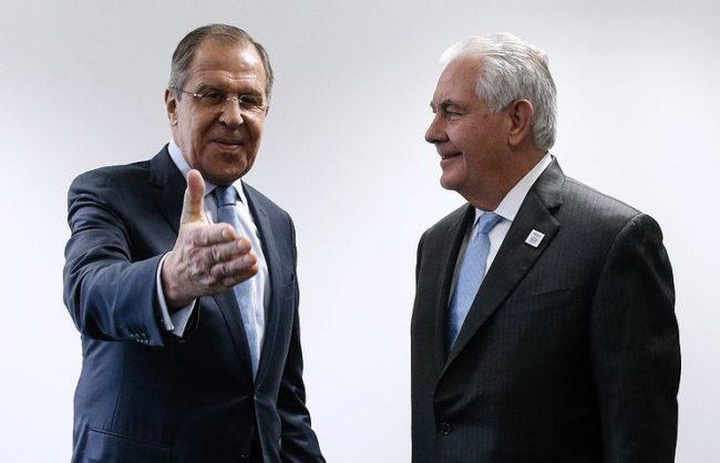 Лавров обясни на Тилърсън защо Русия предприе мерки срещу американските провокации
