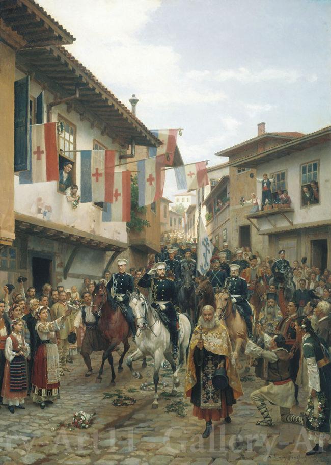 Руско-турската война – 140 години от освобождението на Търново