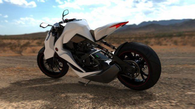 "Мотоциклетите на ""Калашников"" ще имат модерен дизайн и милитаристичен характер | Сн.: УouTube"