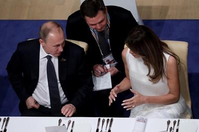 Путин и Тръмп са обсъждали на вечерята в Хамбург темата за осиновяването на руски деца от граждани на САЩ, каза говорителят на Кремъл