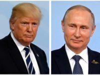 Доналд Тръмп и Владимир Путин СНИМКА: РОЙТЕРС