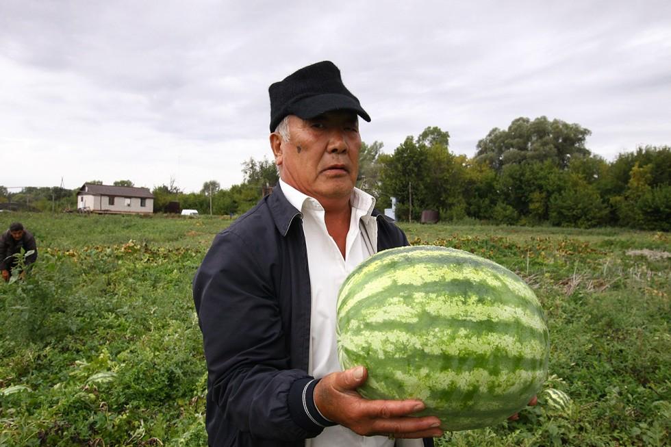 63-годишният фермер Сим Ойра. Снимка: Станислав Шахов