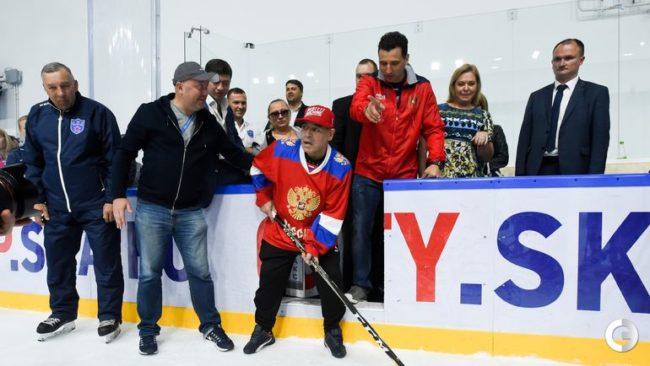 Марадона опита от хокея