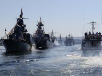 На руско-китайските учения в Балтийско море ще участват около десет кораба