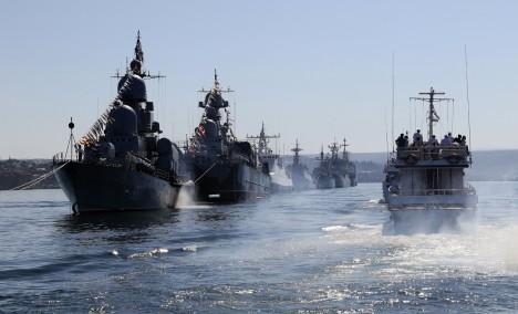 Русия предупреди, че ще извършва нови учения край крайбрежието на Сирия