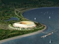 Стадион Краснодар – третият по големина стадион на турнира с капацитет от 50 000 посетители