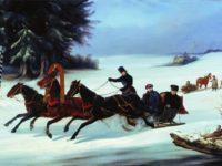 Защо впряг от три коня се нарича руска тройка