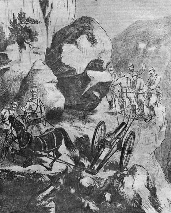 Руско-турската война – Преминаване на Хаинкьойския проход