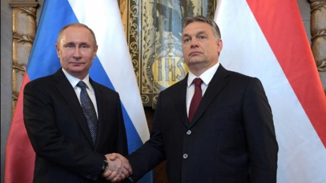 Владимир Путин е провел работен обяд с Виктор Орбан