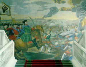 На 18 август 1682 г. Петър I става цар на Русия