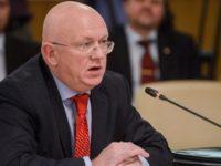 Постоянният посланик на Русия в ООН Василий Небензя