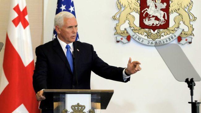 Пенс: Възможно е САЩ да отменят санкциите срещу Русия
