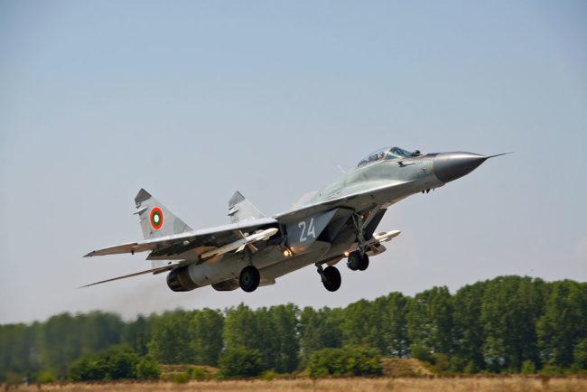 МиГ-29 от ВВС на България