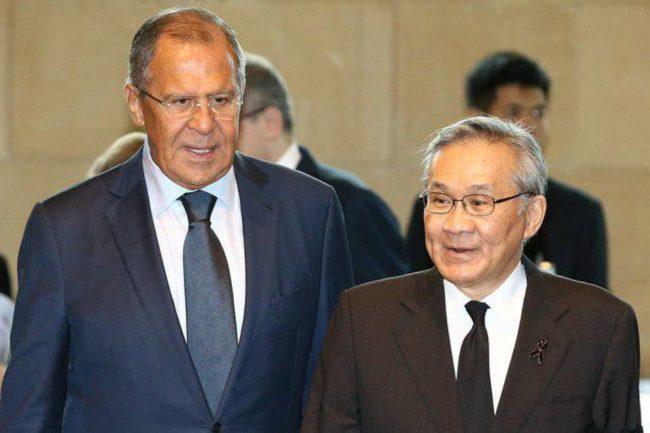 Министрите на външните работи на Русия и Тайланд са обсъдили ситуацията около Северна Корея