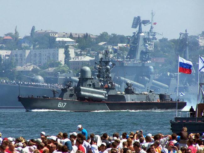 Севастопол става патриотична столица на Русия