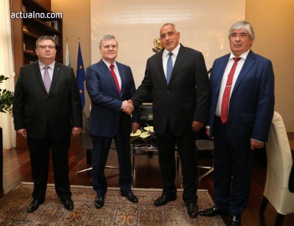 Борисов се срещна с руския генерален прокурор Юрий Чайка