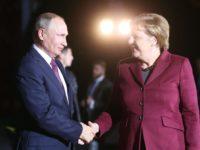 Меркел и Путин разговаряха по телефона