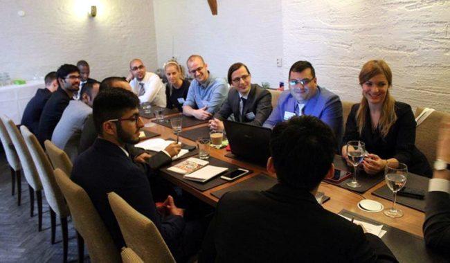 Плевенчанин представя България на кръгла маса в Москва