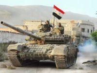 """Сирийската армия с ключова победа срещу """"Ислямска държава"""""""