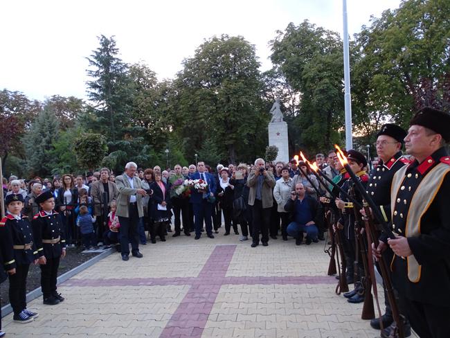 2017_10_11 Nova Zagora - memorial-otkrivane2-s