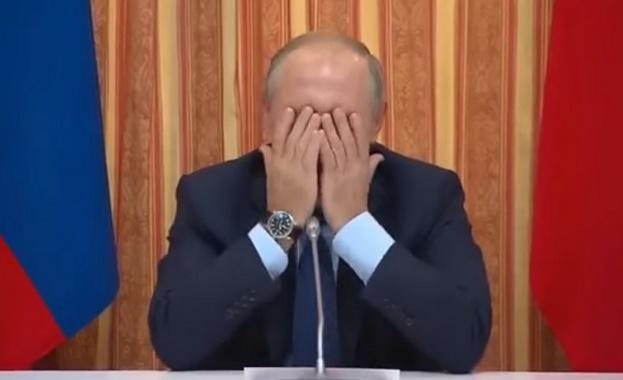Руският земеделски министър разсмя Путин до сълзи (видео)