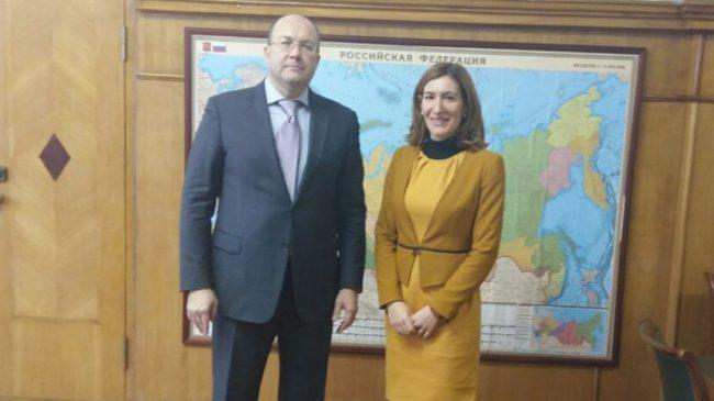 Олег Сафонов и Николина Ангелкова