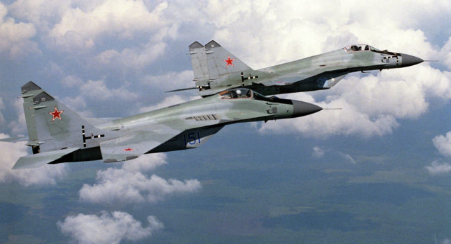 Подарените на Сърбия шест руски МиГ-ове ще бъдат приведени в оперативна готовност през 2018 г