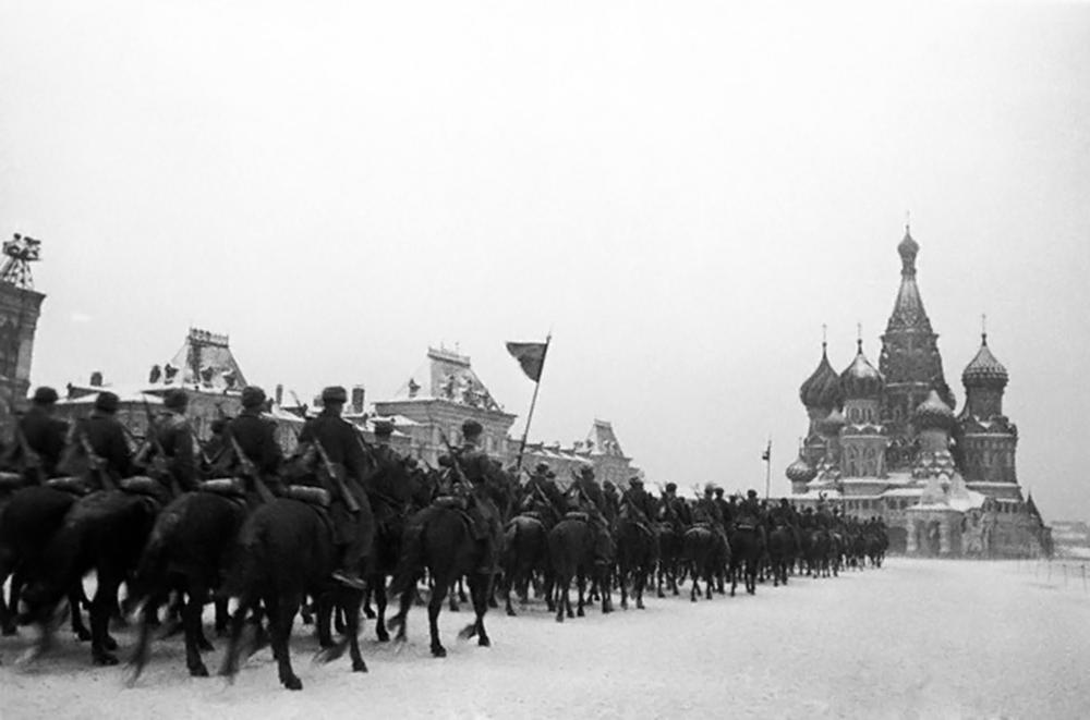 Парад в Москва. 7 ноември, 1941 г.