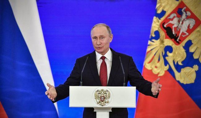 Путин намекна, че допинг скандалът е опит за намеса в президентския вот в Русия
