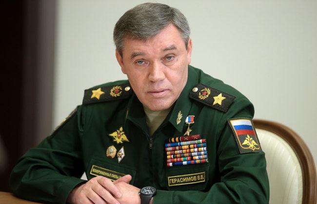 Валерий Герасимов, началник на Генералния щаб на Русия: Активната фаза на военната операция в Сирия е към своя край