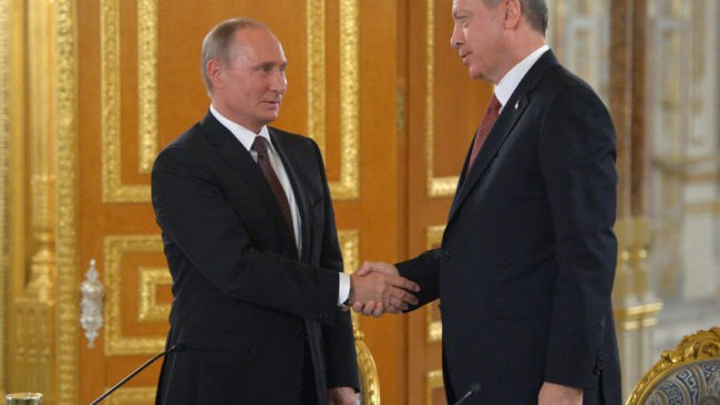 Путин и Ердоган ще обсъдят Сирия в Сочи