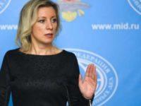 Захарова: Русия никога не е била войнствена страна, за разлика от европейските държави