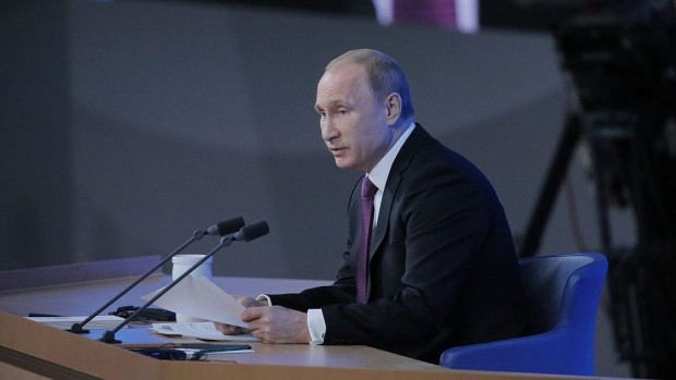 Приключи ежегодната пресконференция на Владимир Путин