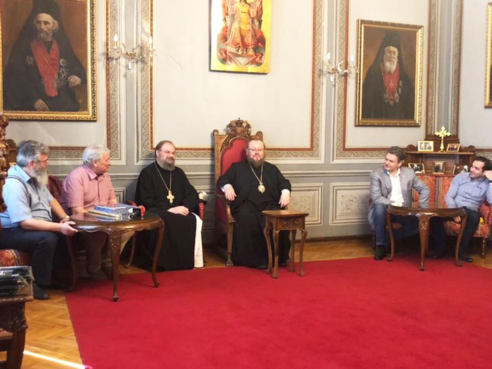 На среща с Негово Високопреосвещенство русенския митрополит Наум